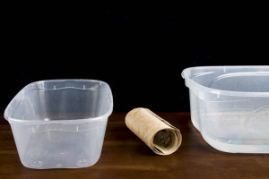 Rolled document and tubs