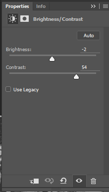 Photoshop Brightness-Contrast