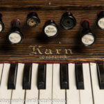 Karn reed organ, manufactured in Woodstock, Ontario, Canada