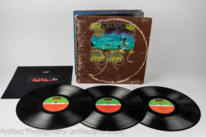 Yessongs album with insert and three disks