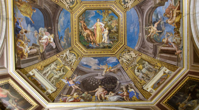 Painted ceiling, Vatican Museum